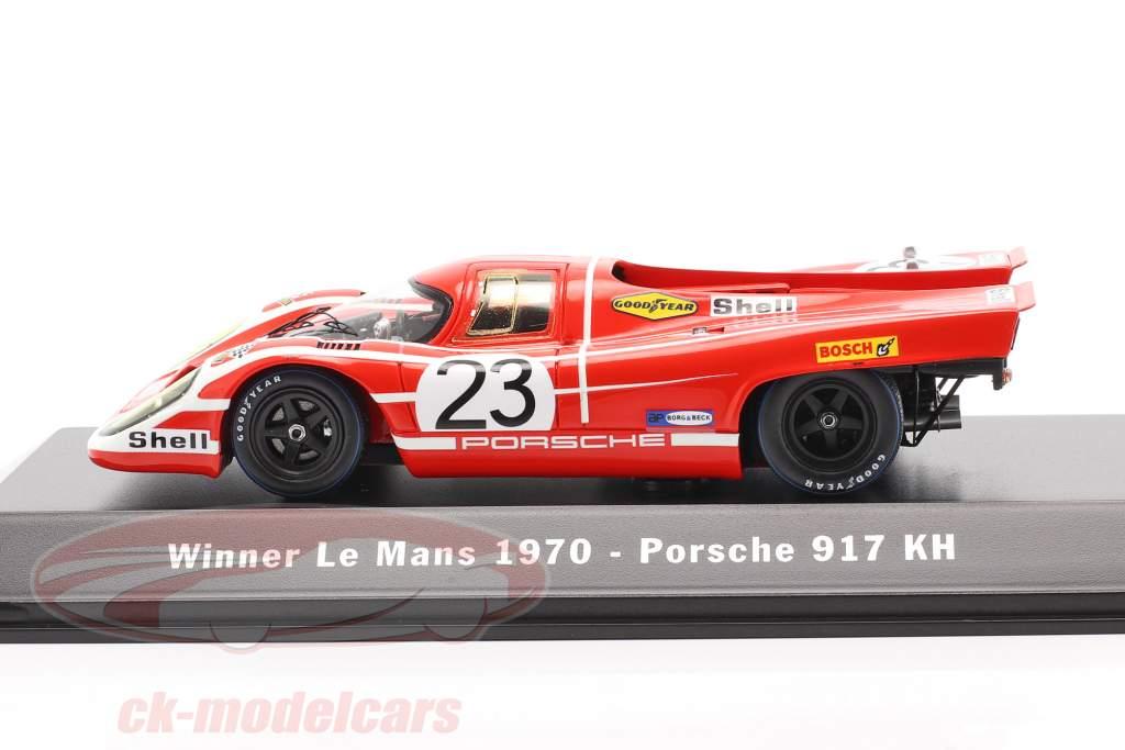 Porsche 917 K #23 Gagnant 24h LeMans 1970 Attwood, Herrmann 1:43 Spark