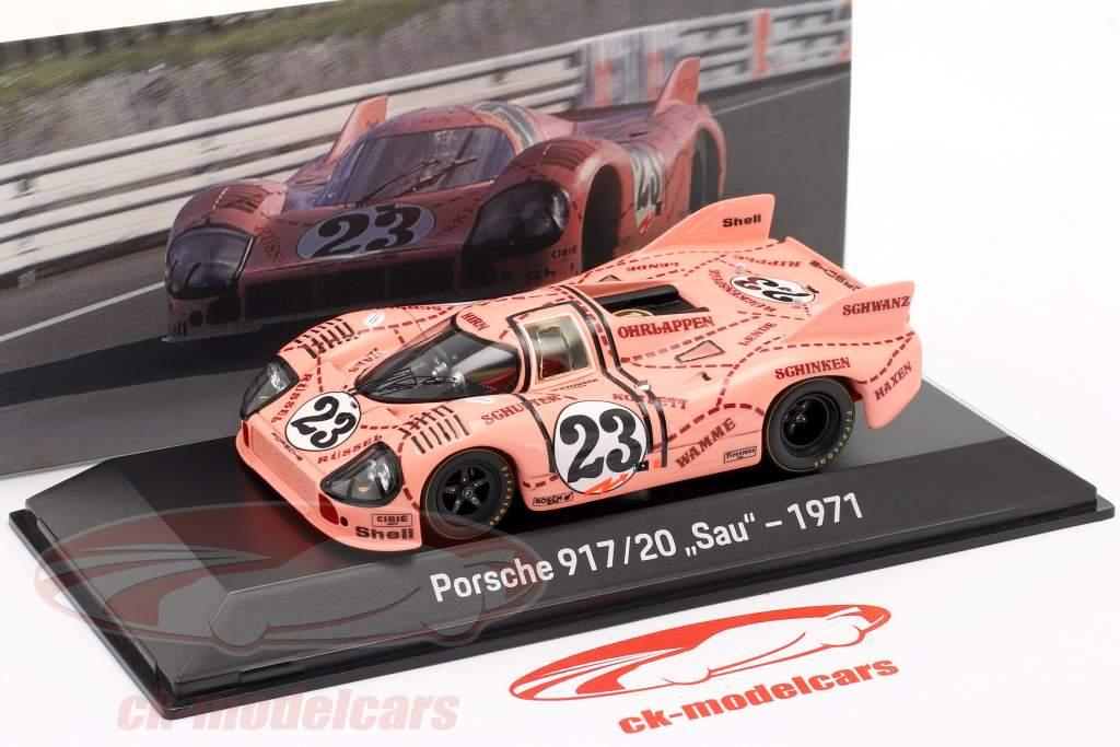 Porsche 917/20 så / Pink Pig #23 24h LeMans 1971 Kauhsen, Joest 1:43 Spark