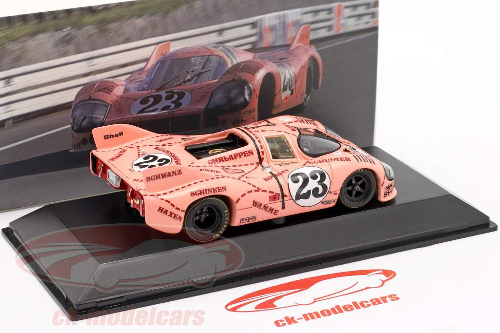 Porsche 917/20 zeug / Pink Pig #23 24h LeMans 1971 Kauhsen, Joest 1:43 Spark