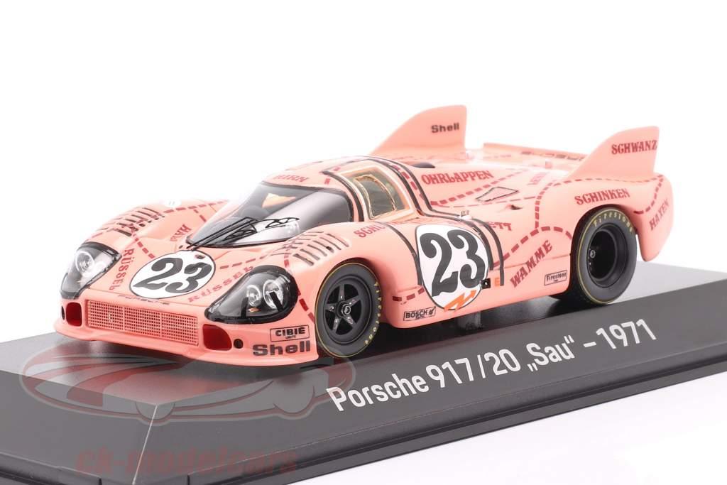 Porsche 917/20 Sau / Pink Pig #23 24h LeMans 1971 Kauhsen, Joest 1:43 Spark