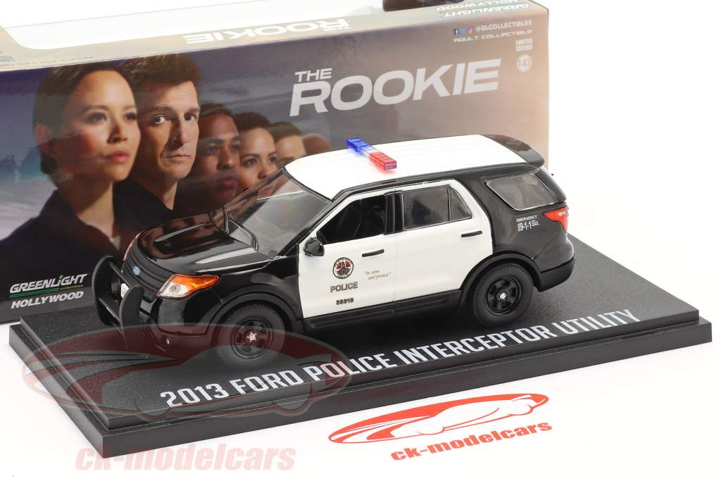 Ford Police Interceptor Utility 2013 TV serier The Rookie (2018) 1:43 Greenlight