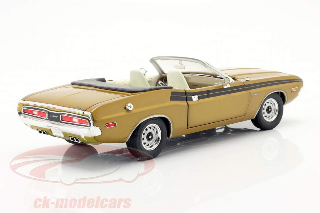 Dodge Challenger 340 1971 Series de Televisión The Mod Squad (1968-73) oro 1:18 Greenlight