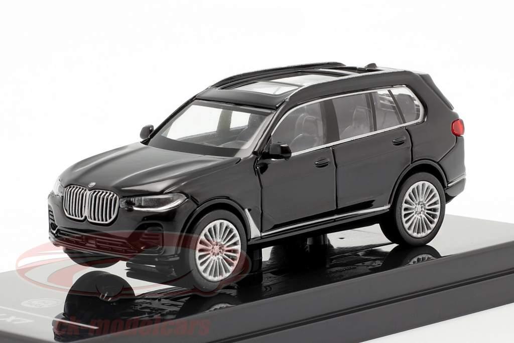 BMW X7 (G07) LHD year 2019 black 1:64 Paragon Models