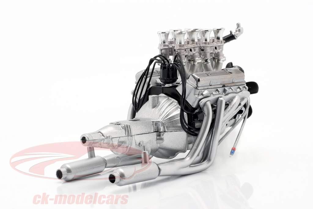 Injetado 396 Big Block Chevrolet Motor and transmissão 1:18 GMP