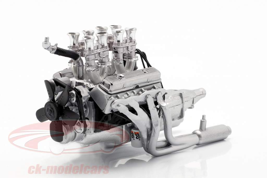 Injiceret 396 Big Block Chevrolet Motor and smitte 1:18 GMP