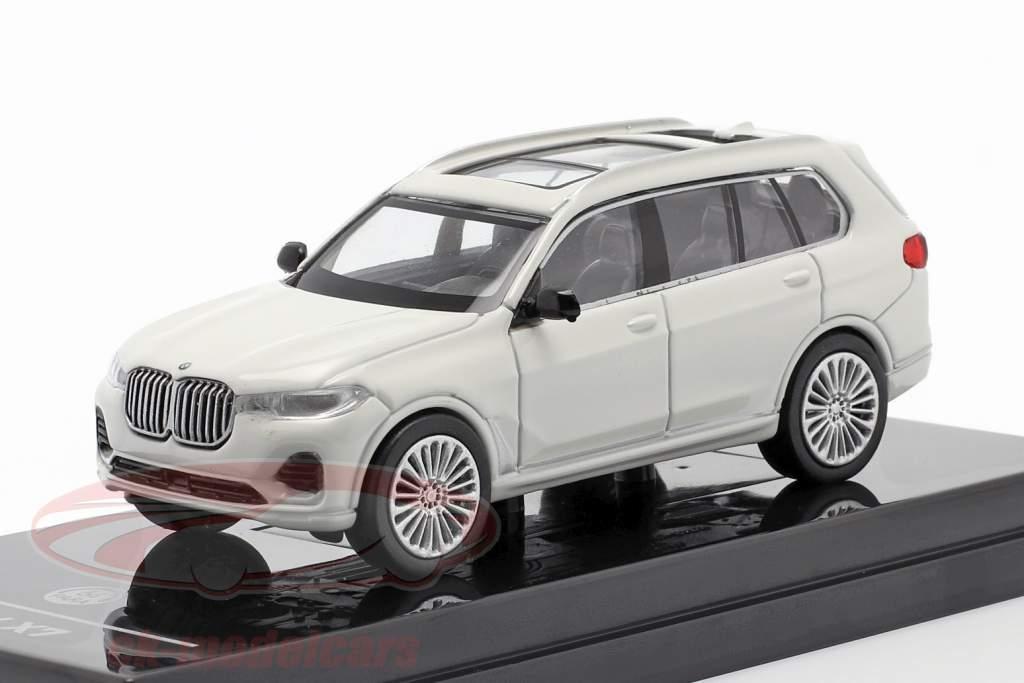 BMW X7 (G07) LHD Année de construction 2019 blanc 1:64 Paragon Models
