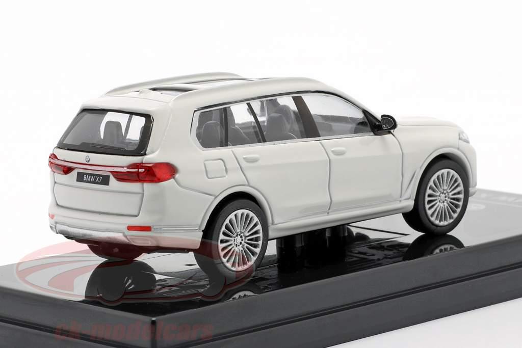 BMW X7 (G07) LHD Año de construcción 2019 Blanco 1:64 Paragon Models