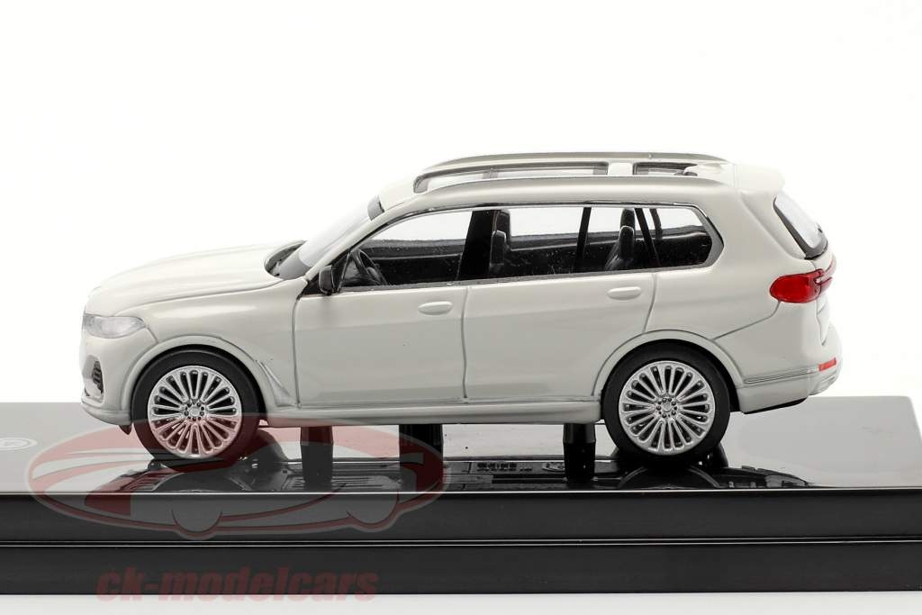 BMW X7 (G07) LHD year 2019 white 1:64 Paragon Models
