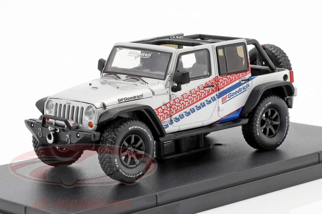 Jeep Wrangler Unlimited BF Goodrich 150th Anniversary 2017 1:43 Greenlight