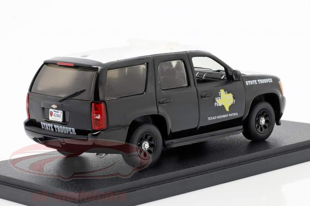 Chevrolet Tahoe Texas Highway Patrol 2010 nero / bianca 1:43 Greenlight