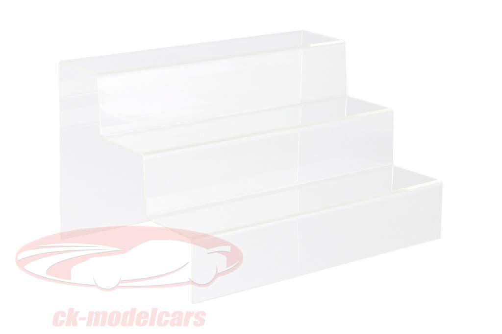 Escada de apresentação Com 3 estágios Para Carros modelo no escala 1:43 SAFE