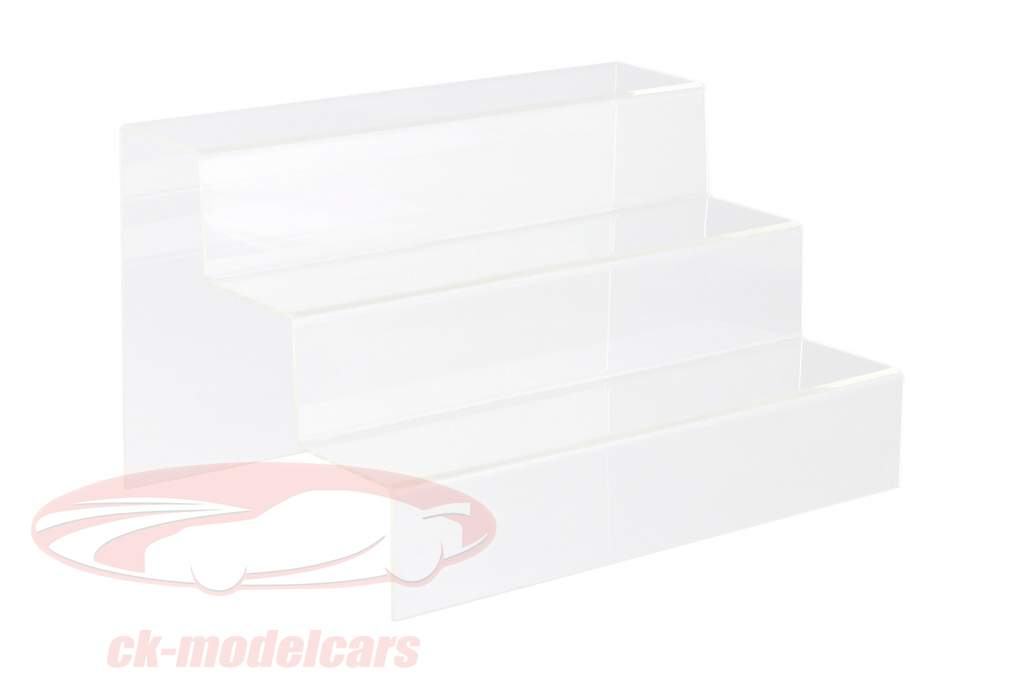 Presentation stairs with 3 steps for modelcars in scale 1:43 SAFE