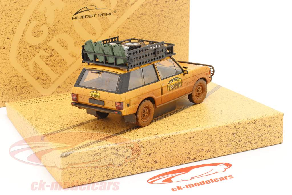 Land Rover Range Rover Camel Trophy Papua Ny Guinea 1982 Dirty Version 1:43 Almost Real