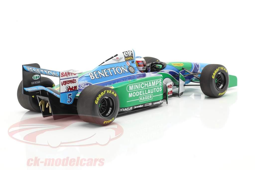Michael Schumacher Benetton B194 #5 allemand GP F1 Champion du monde 1994 1:18 Minichamps