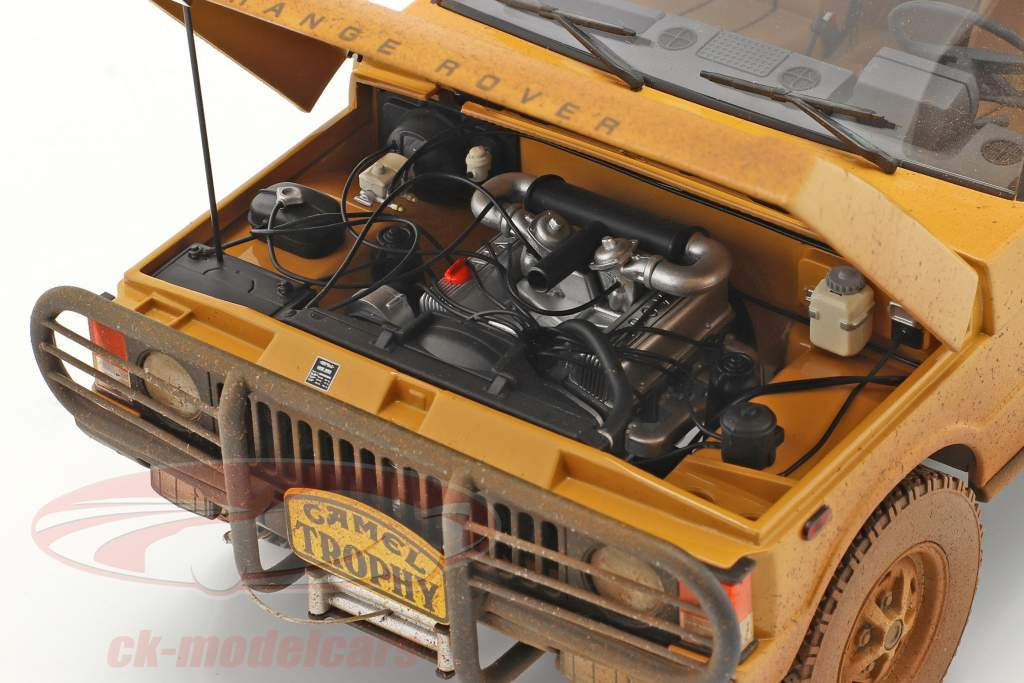 Land Rover Range Rover Camel Trophy Papua Ny Guinea 1982 Dirty Version 1:18 Almost Real