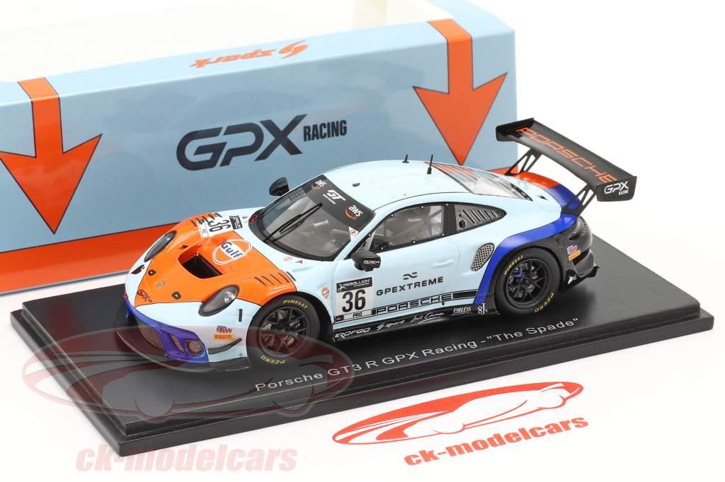 Porsche 911 GT3 R GPX Gulf #36 ganador Coppa Florio 12h Sizilien 2020 1:43 Spark