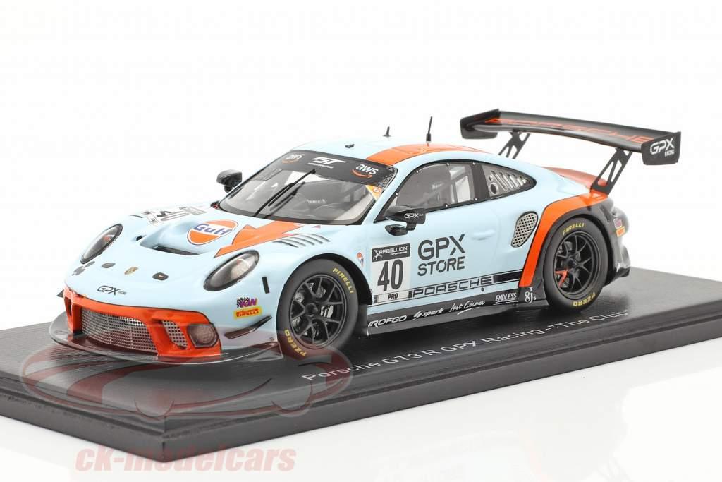 Porsche 911 GT3 R GPX Racing Gulf #40 GT World Challenge 2020 1:43 Spark