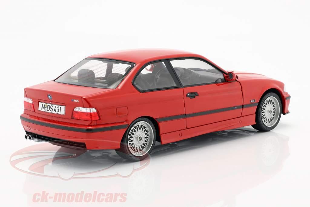 BMW M3 (E36) Coupe Anno di costruzione 1994 rosso 1:18 Solido
