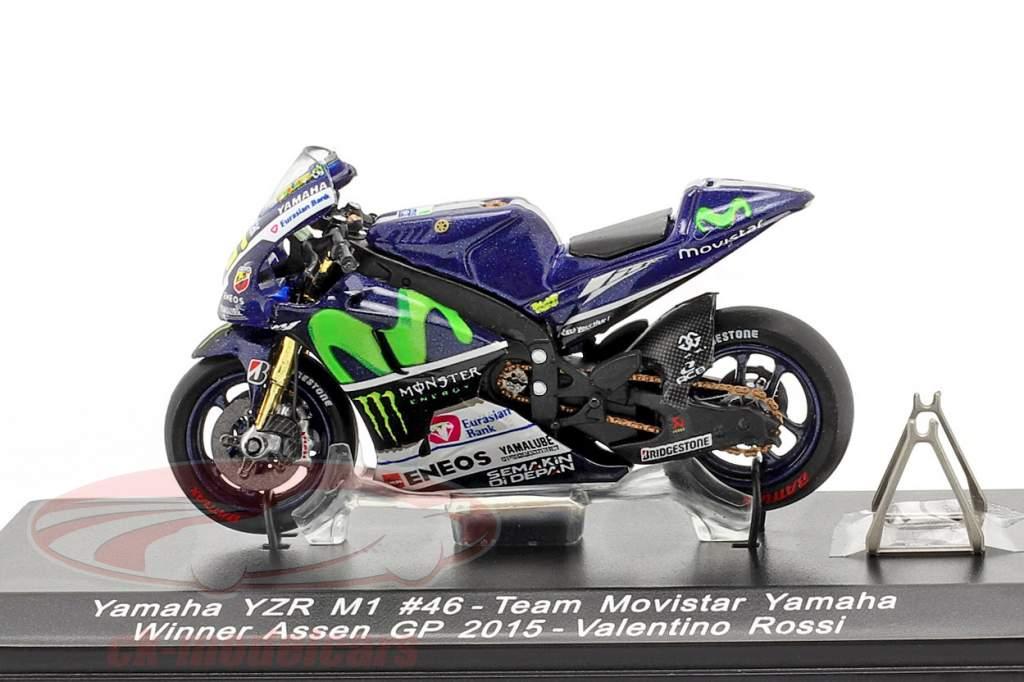 Valentino Rossi Yamaha YZR-M1 #46 vencedora MotoGP Assen 2015 1:43 Spark