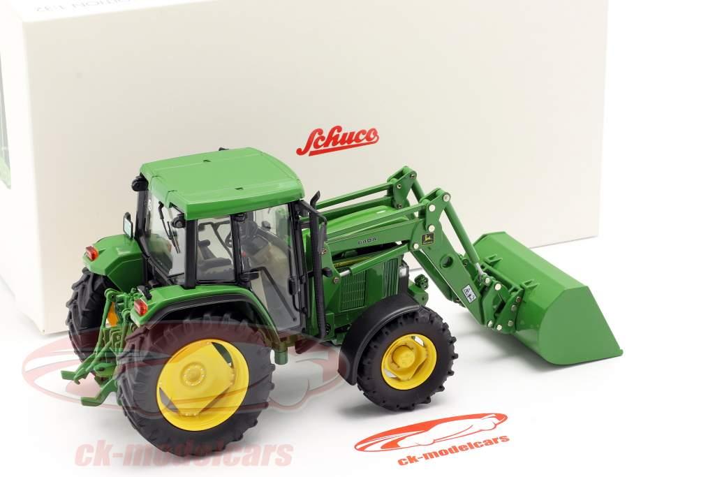 John Deere 6300 trattore Con Caricatore frontale Anno di costruzione 1992-97 verde 1:32 Schuco