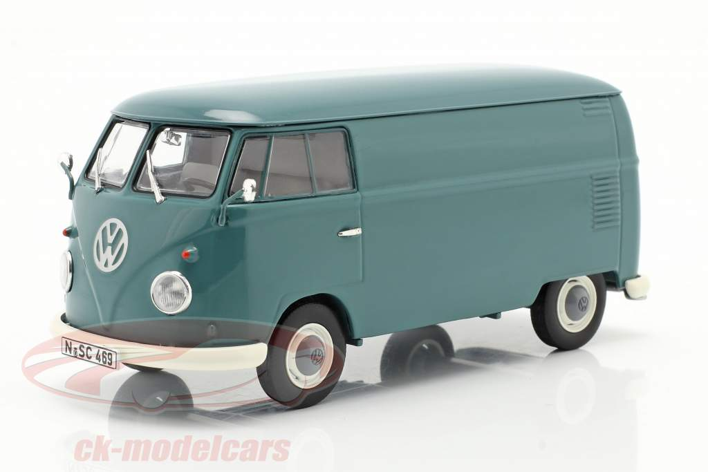 Volkswagen VW Typ 2 T1b Bestelwagen blauw 1:32 Schuco