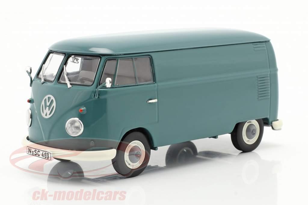 Volkswagen VW Typ 2 T1b Box van blue 1:32 Schuco