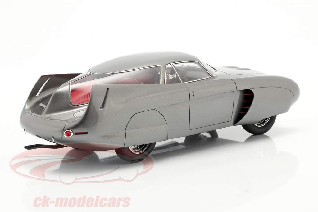 Alfa Romeo B.A.T. 5 Année de construction 1953 gris métallique 1:18 Matrix
