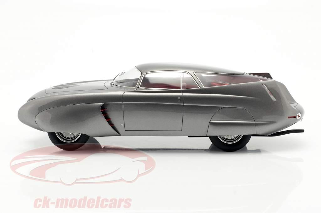 Alfa Romeo B.A.T. 5 Año de construcción 1953 gris metálico 1:18 Matrix
