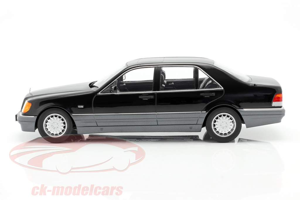 Mercedes-Benz S500 (W140) Byggeår 1994-98 sort 1:18 iScale