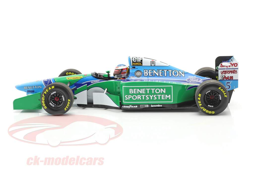 M. Schumacher Benetton B194 #5 Francia GP F1 Campione del mondo 1994 1:18 Minichamps