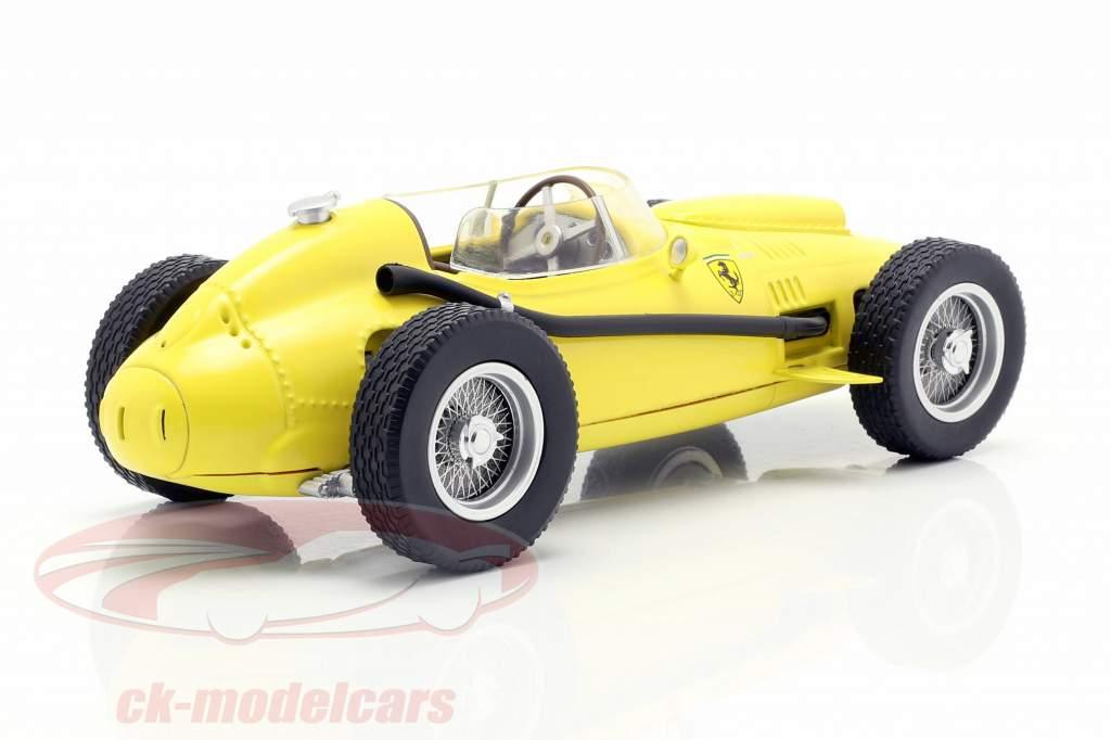 Ferrari Dino 246 式 1 1958 Plain Body Edition 黄色 1:18 CMR