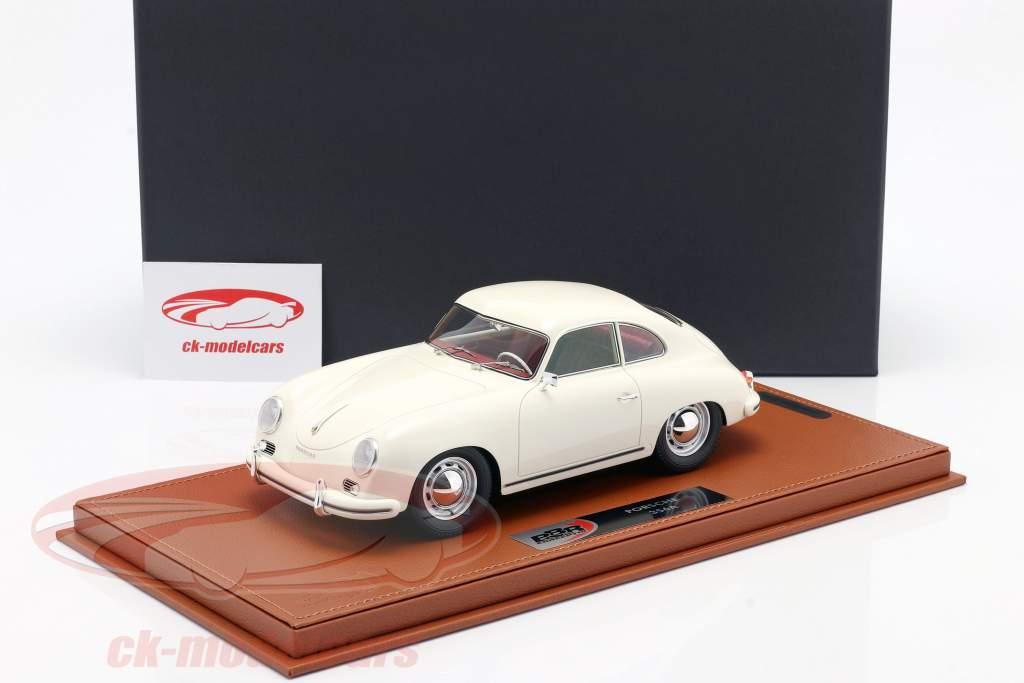Porsche 356A Byggeår 1955 hvid Med Udstillingsvindue 1:18 BBR