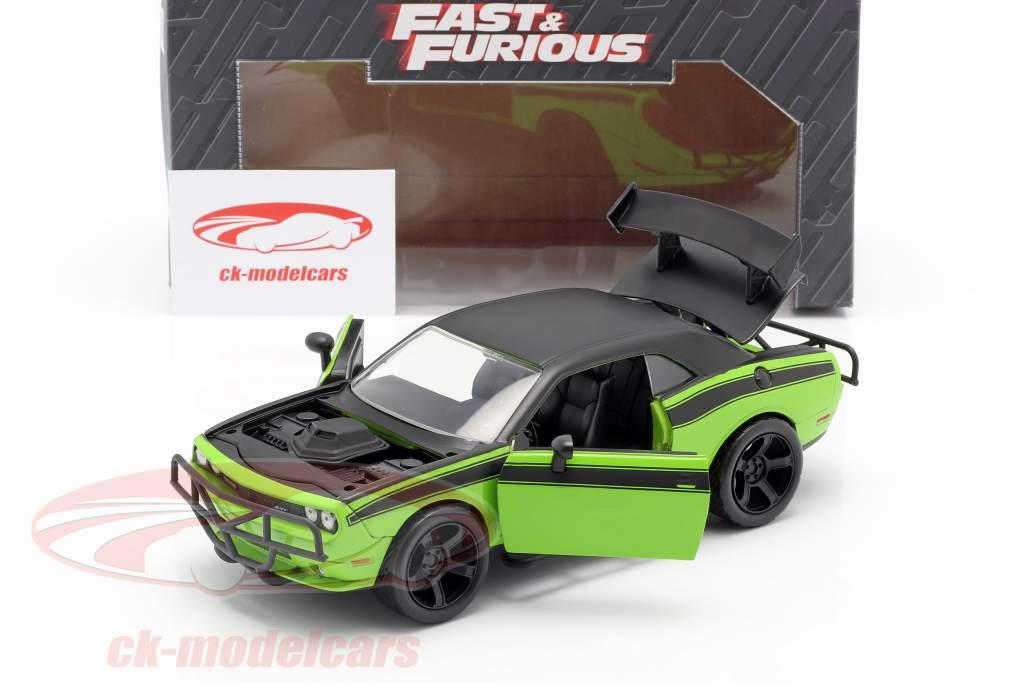 Dodge Challenger SRT8 Filme Fast and Furious 7 (2015) 1:24 Jada Toys