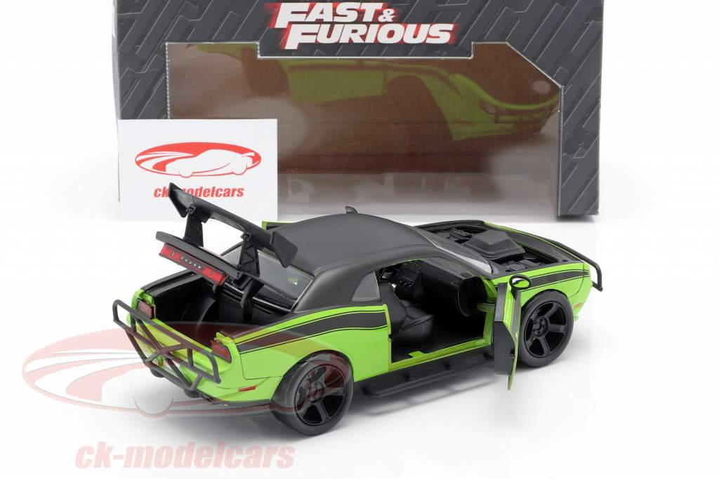 Dodge Challenger SRT8 Película Fast and Furious 7 (2015) 1:24 Jada Toys