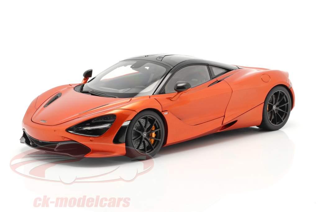 McLaren 720S Année de construction 2017 Orange métallique 1:18 AUTOart