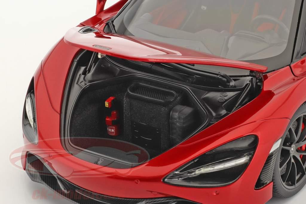McLaren 720S Anno di costruzione 2017 rosso metallico 1:18 AUTOart