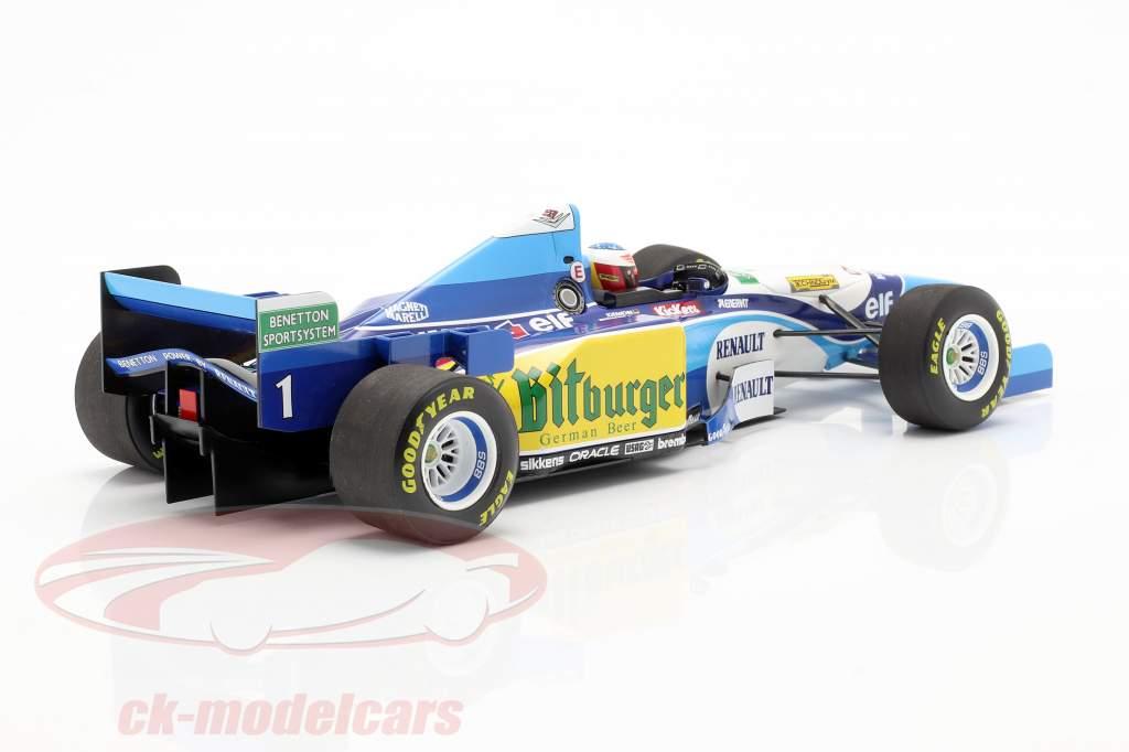 M. Schumacher Benetton B195 #1 Pacífico GP F1 Campeão mundial 1995 1:18 Minichamps