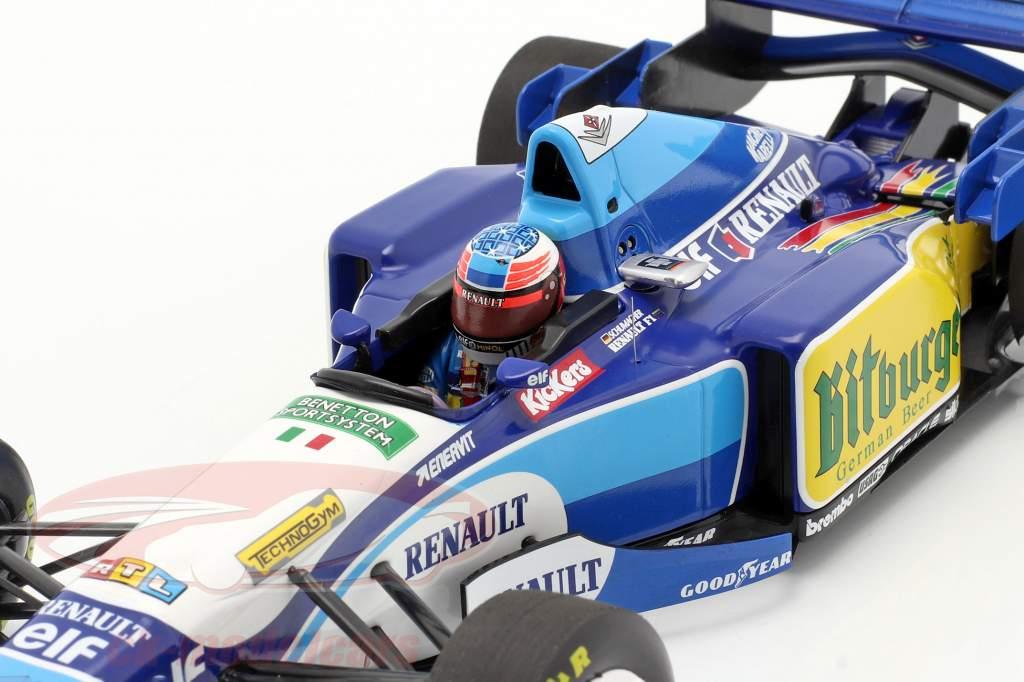 M. Schumacher Benetton B195 #1 Pazifik GP F1 Weltmeister 1995 1:18 Minichamps