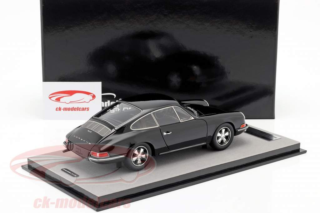 Porsche 911 S Gade version 1967 sort 1:18 Tecnomodel