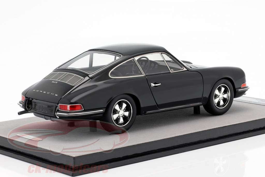 Porsche 911 S Street version 1967 black 1:18 Tecnomodel