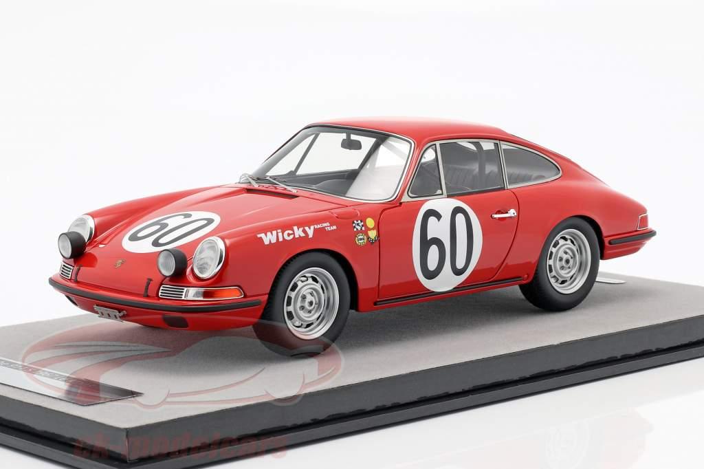 Porsche 911 S #60 24h LeMans 1967 Wicky, Farjon 1:18 Tecnomodel