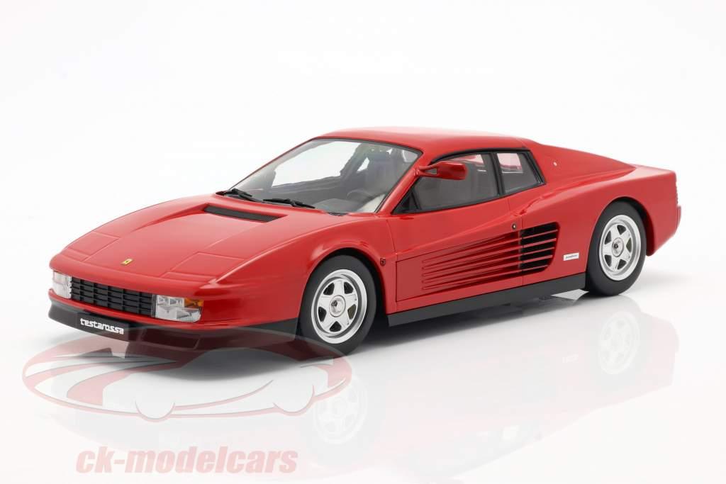 Ferrari Testarossa Monospecchio Anno di costruzione 1984 rosso 1:18 KK-Scale
