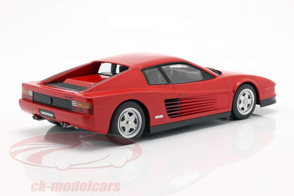 Ferrari Testarossa Monospecchio Byggeår 1984 rød 1:18 KK-Scale