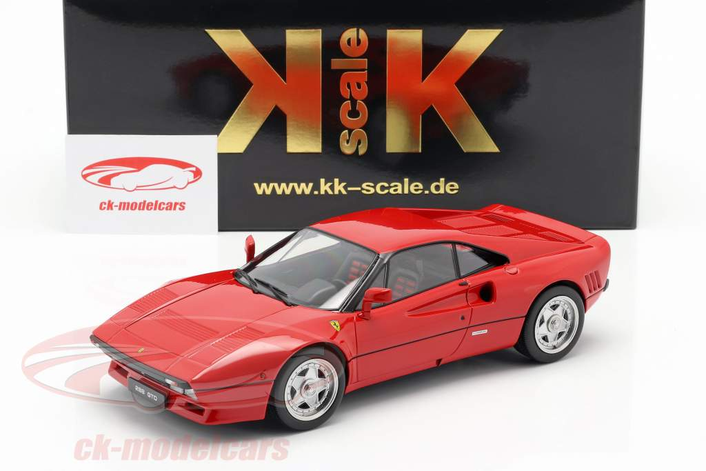 Ferrari 288 GTO Upgrade 1984 red 1:18 KK-Scale