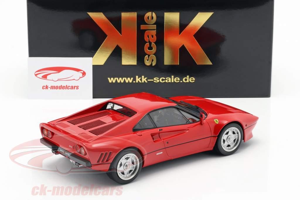 Ferrari 288 GTO Upgrade 1984 rød 1:18 KK-Scale