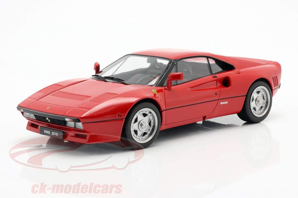 Ferrari 288 GTO Upgrade 1984 rosso 1:18 KK-Scale