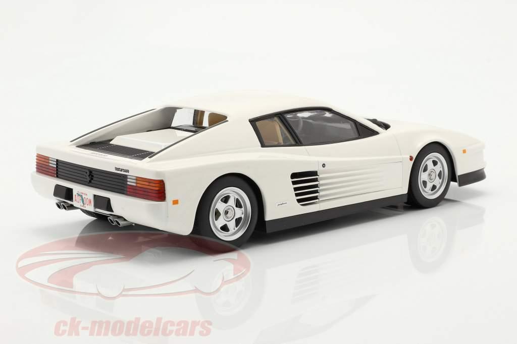 Ferrari Testarossa Monospecchio US-Version Baujahr 1984 weiß 1:18 KK-Scale