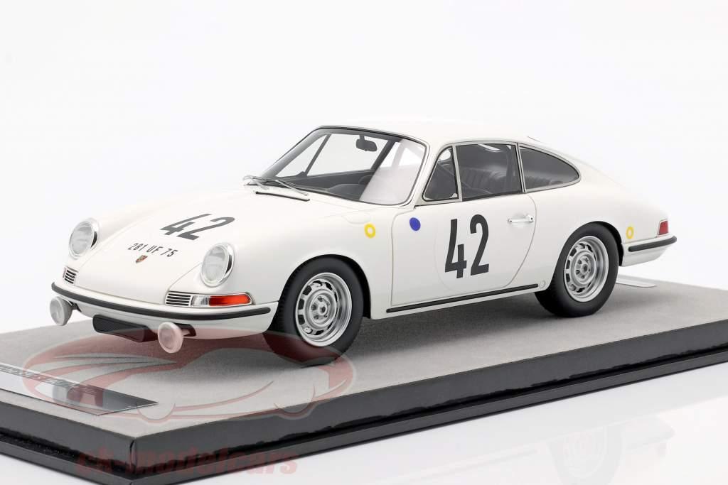Porsche 911 S #42 vainqueur de la classe 24h LeMans 1967 Buchet, Linge 1:18 Tecnomodel