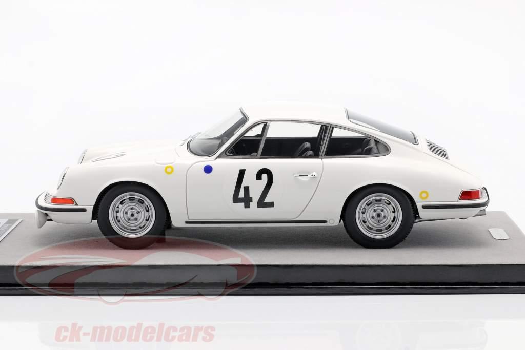 Porsche 911 S #42 ganador de la clase 24h LeMans 1967 Buchet, Linge 1:18 Tecnomodel