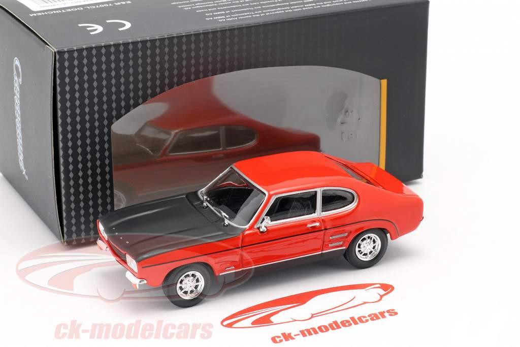 Ford Capri rosso / nero 1:43 Cararama